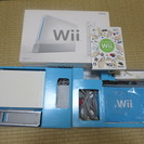 Wii本体と付属品