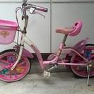 補助輪付き 16インチ 子供用自転車 プリンス ピンク KIDS