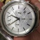 アルマーニエクスチェンジの時計