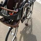 【取引中】値下げ!子供乗せ自転車  プチママン26インチ