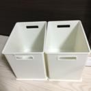 カラーボックス収納2個【ワンコイン】