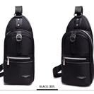 新品:XUANSHENG ナイロン製 ボディバッグ黒色