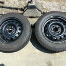 スタッドレスタイヤ ブリザック 175/65R14  4穴鉄ホイール
