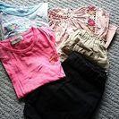 一枚あたり60円・女の子・サイズ120お洋服(used)まとめて