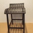 アイアン(金属製) スツール ハイチェア 2脚組