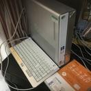日立デスクトップパソコン プリウス 中古