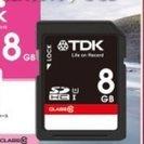 【TDK】 SDHCメモリーカード 8GB Class10 【新品】