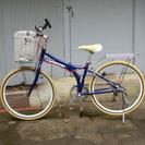 FORD 折りたたみ自転車 26インチ 外装6段変速 オールアルミ車体