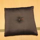 ほぼ未使用。高級絹座布団5枚。松坂屋オーダー。