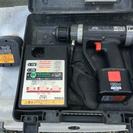 充電振動ドリル バッテリー2個 充電器 ケースセット