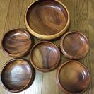 木のお皿 6枚セット
