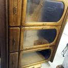 【取引完了】カリモク家具 キャビネット 食器棚 板橋区 最高級