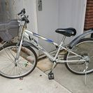 24インチ 少年用自転車(前輪パンク)