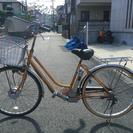 SANYO製電動自転車(ジャンク品)