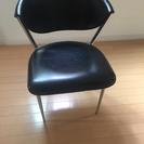 ダイニングチェア 2脚 椅子 ブラック