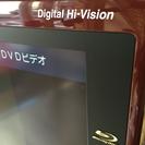 AQUOS 37型 ブルーレイ付き液晶テレビ