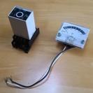 OMRON 電子サーモ 温度調節器 E5L-A & パネルメータ指示計