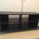 大幅値下げ!!  IKEA テレビ台  ブラック