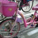16インチ プリンセスの自転車
