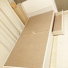 美品 収納付きシングルベッド(ベット)フレーム ホワイト 中野区