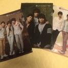 韓流グループ JYJ  ★クリアファイル3枚セット(免税店)