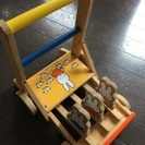 《値下げしました》木のおもちゃシリーズ ミッフィのカタカタベビカ