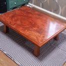 商談中 座卓 ちゃぶ台 和風 テーブル 折り畳みテーブル アンティーク