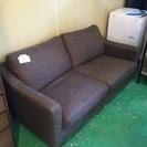 【家具】【美品】【送料無料】 2人掛けソファ グレー