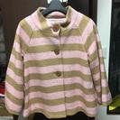 値下げしました‼︎   ピンクの可愛いコート