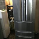 HITACHI 495L 6ドア大型冷蔵庫 R-KF50SPAM