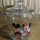 ミッキー&ミニー ガラス容器