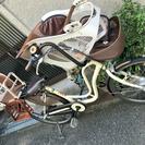 ママチャリ 子供乗せ 自転車 3人乗り