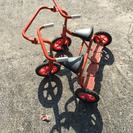 二人乗り三輪車