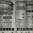 値下げ☆コンサドーレ親子チケット