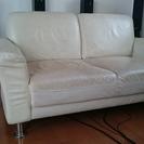 【無料】二人掛けソファー差し上げます。
