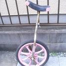 1輪車(16インチ)ピンク