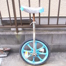 1輪車(16インチ)ブルー