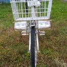 富士サイクル26インチ買い物用自転車  機械式ブレーキ  全カバー...