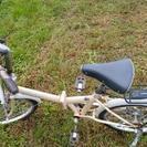 20インチ折りたたみ自転車