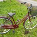 26インチ買い物用自転車  全カバーチェーン 良品