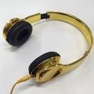 ゴールドヘッドホン GoldHedphone