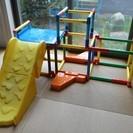 大型遊具 折り畳み式ジャングルジム タカラトミー とっても簡単!た...