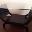 ガラスのテーブル(取引中)