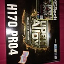 新品 マザーボード ASRock H170 Pro4