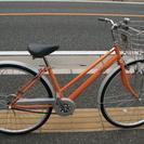 27インチ シティーサイクル 自転車