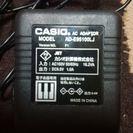 カシオ電子ピアノアダプター9.5ボルト