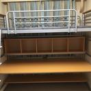 ロフトベッド(下段 テーブル 上段 ベッド)