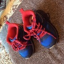 【美品子供靴】 12.5cm  GAP 紐靴スニーカー