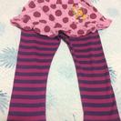 レトロ スカート付パンツ