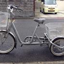 三輪自転車 20インチ スイングチャーリー シルバー